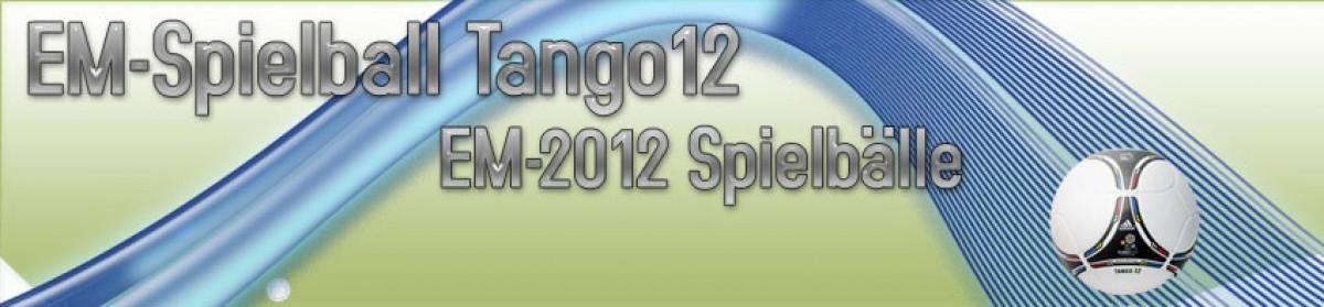 EM Spielball Tango 12 – EM 2012 Spielball